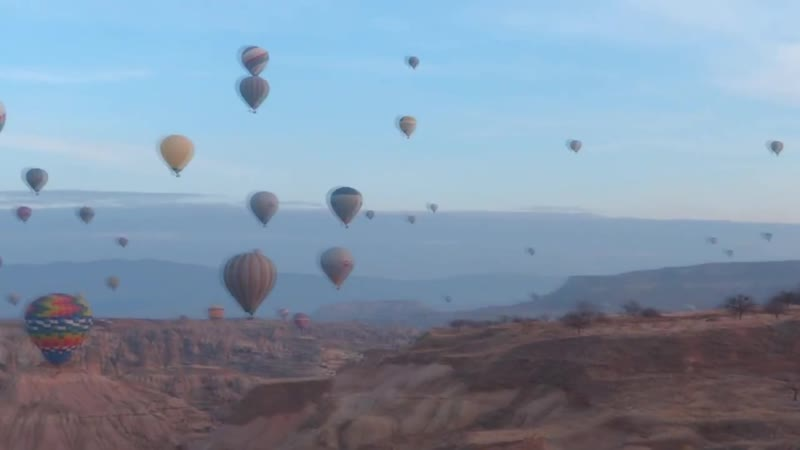 КАППАДОКИЯ зимой полет на воздушном шаре
