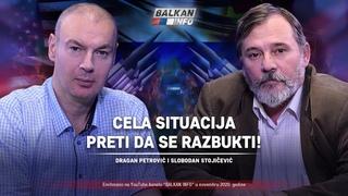 AKTUELNO: Dragan Petrović i Slobodan Stojičević - Cela situacija preti da se razbukti! ()