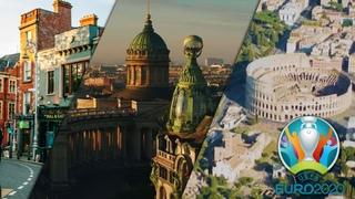 Вперёд в прошлое EURO-2020 | Рим. Санкт-Петербург. Дублин. Часть 1