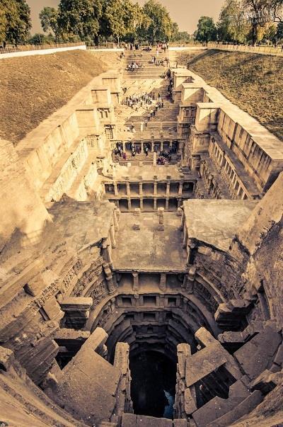 Рани-ки-Вав - удивительное сооружение, свидетельство невероятных технологий прошлого. NjrFsJci8-E