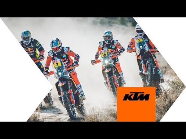 The Red Bull KTM Factory Racing 2020 Dakar Rally Team KTM