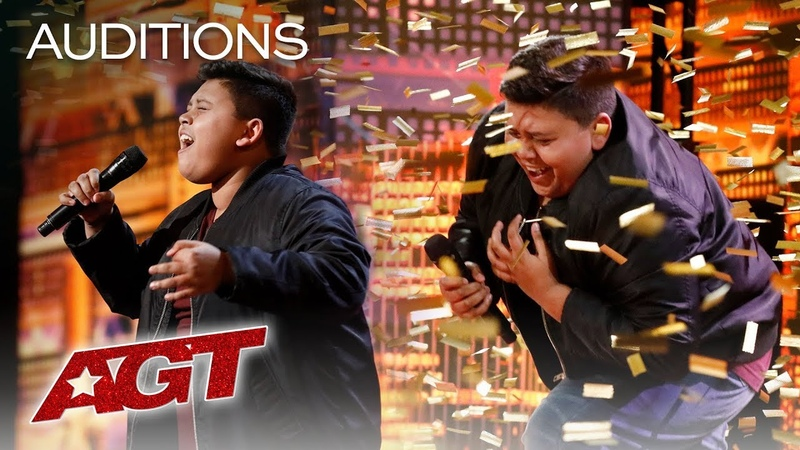 Luke Islam Receives Golden Buzzer From Favorite Judge Julianne Hough America's Got Talent 2019