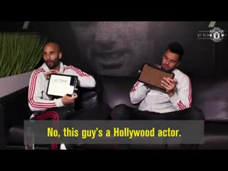 Birthday boy sergio romero challenges lee grant to play mr and mr in spanish! mufc  gk