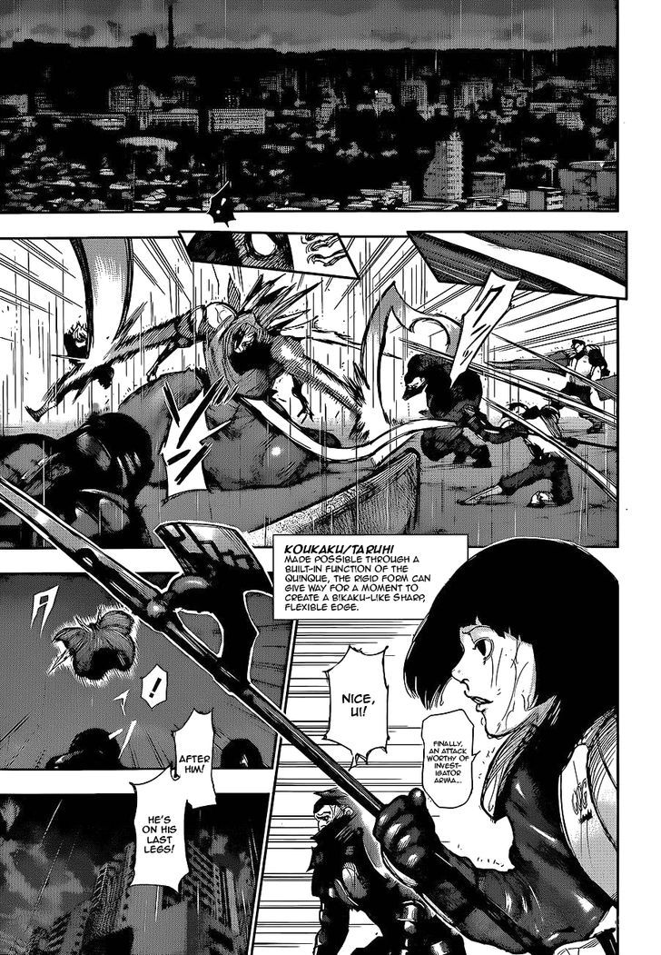 Tokyo Ghoul, Vol.14 Chapter 134 No Passing, image #8
