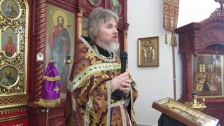 Иерей Сергий Макаров - проповедь в день памяти прп. Марии Египетской