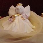 Ангелок из бумажной салфетки (МК)