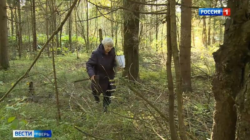 Больше полувека Надежда Хлопкова трудится лесничим в Тверской области