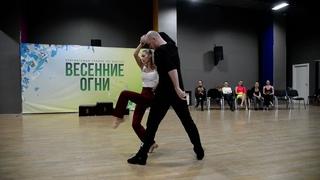 ХАСТЛ, Весенние огни 2021, JnJ Star, финал, Сурнин Сергей и Лебедева Вероника, slow
