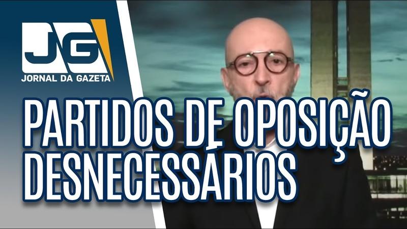 Josias de Souza / Prioridade do governo Bolsonaro é tornar partidos de oposição desnecessários