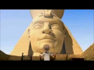 Египетская пирамида -  Очень смешной прикольный мультик \  interesting cartoon for kids disney pixar