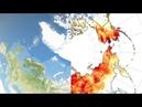 NASA Sees High Temperatures Wildfires Sea Ice Minimum Extent in Warming Arctic