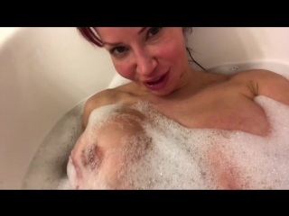 Bianca Beauchamp - Taking a steamy hot bath with barely bubbles left so ITS BOOBIES TIME!!!