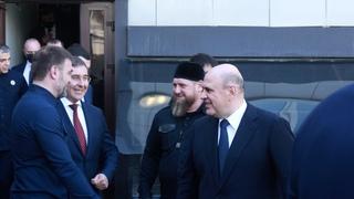 Михаил Мишустин посетил Чечню с рабочим визитом
