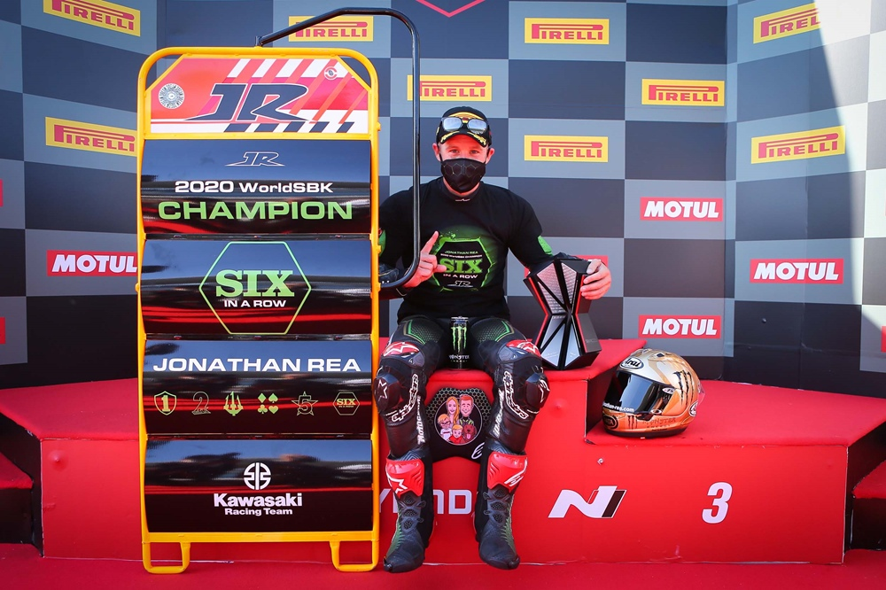Джонатан Рей - шестикратный чемпион мира по супербайку