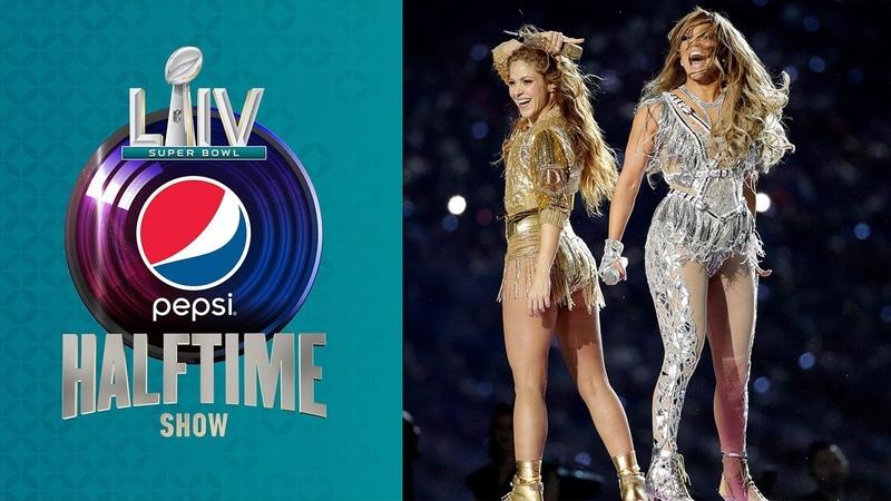 Shakira J. Los FULL Pepsi Super Bowl LIV Halftime Show