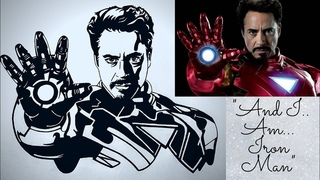 how to draw iron man drawing step by step | iron man drawing easy | iron man drawing
