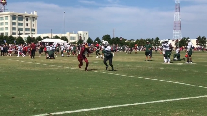 Jets' Sam Darnold's Day 13 training camp highlights