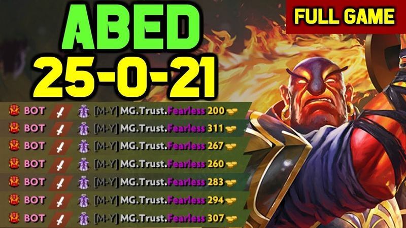 THIS IS WHY Abed is 11k MMR - INSANE Ember spirit 51k DAMAGE 25 Kills