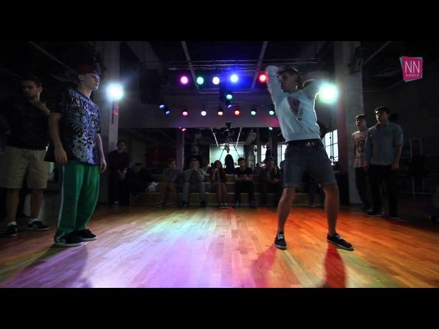Drey VS Паша Лазарев - 1/8 Electro Dance - Electrofication 14 (2013)