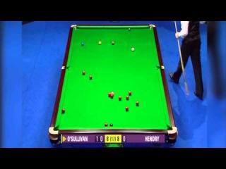 Снукер. Стивен Хендри vs Ронни О'Салливан. CLASSIC SNOOKER MATCH!!  Welsh Open Final 2005