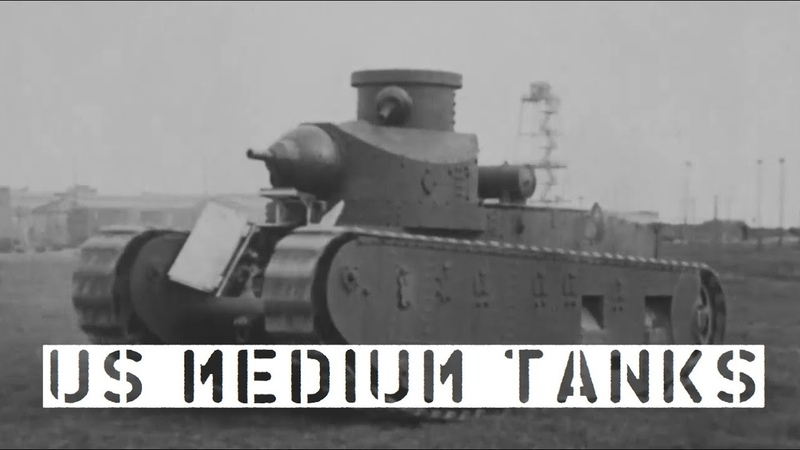 US Medium Tanks of the 1920s