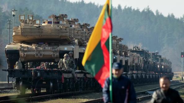 Белоруссия заявила о переброске танкового батальона США к границам страны