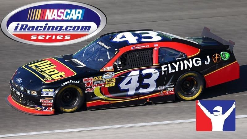 2000 подписчиков Отмечаем в Лас Вегасе NASCAR iRacing Series @ Las Vegas Motor Speedway