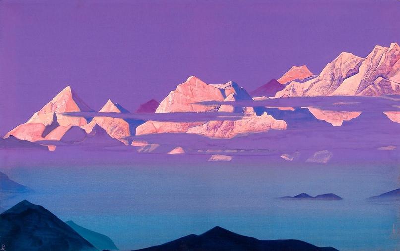 Гималаи. 1933. Н.К. Рерих