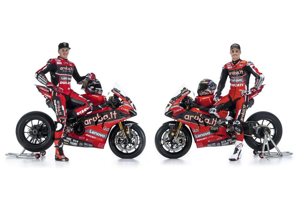 Презентация команды Aruba.it Racing Ducati