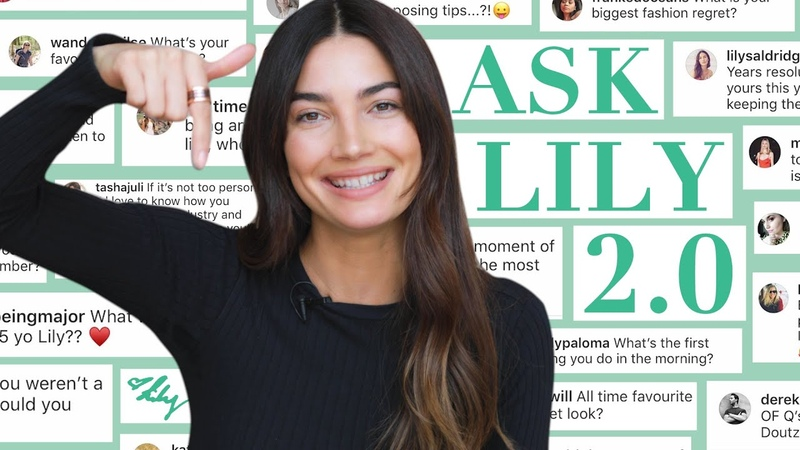 Ask Lily 2.0 | How I Met Caleb Advice to 15 Year-Old Me | Lily Aldridge