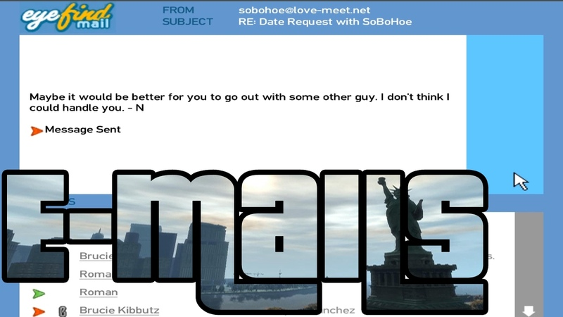 GTA IV Email guide ALL responses reuploaded