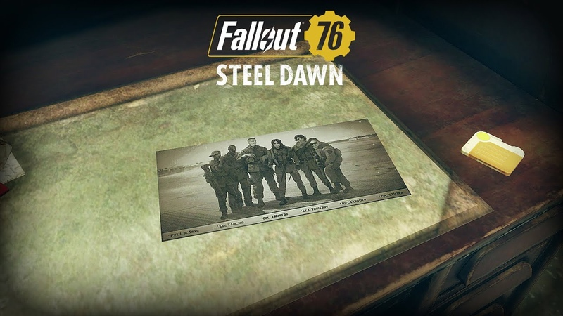 Fallout 76 история Братства Стали в Аппалачии