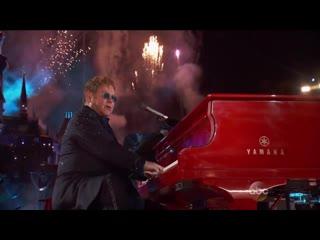 Elton John HD - Wonderful Crazy Night (live at Disneyland 60th anniversary) _ 2016
