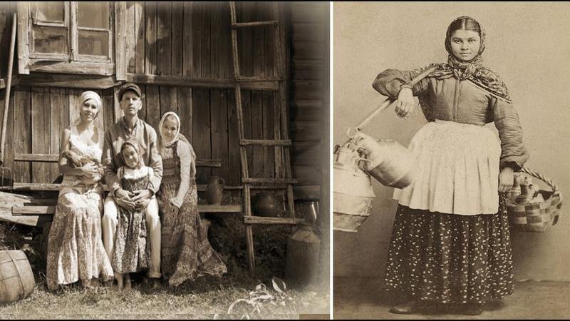 Почему раньше женщины в русских деревнях не носили нижнее БЕЛЬЁ