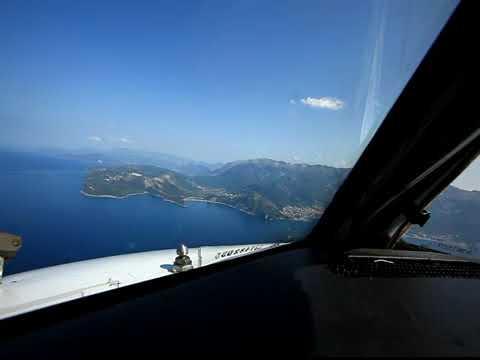 Заход в Тивате или когда второй пилот бывший Штурман ролик из старых запасов