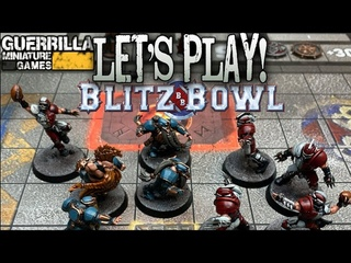 Let's Play! - Blitz Bowl 2nd Edition by Games Workshop