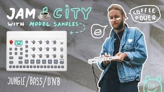 Jungle, DnB 🌲 JAM CITY with Elektron Model Samples 🙂