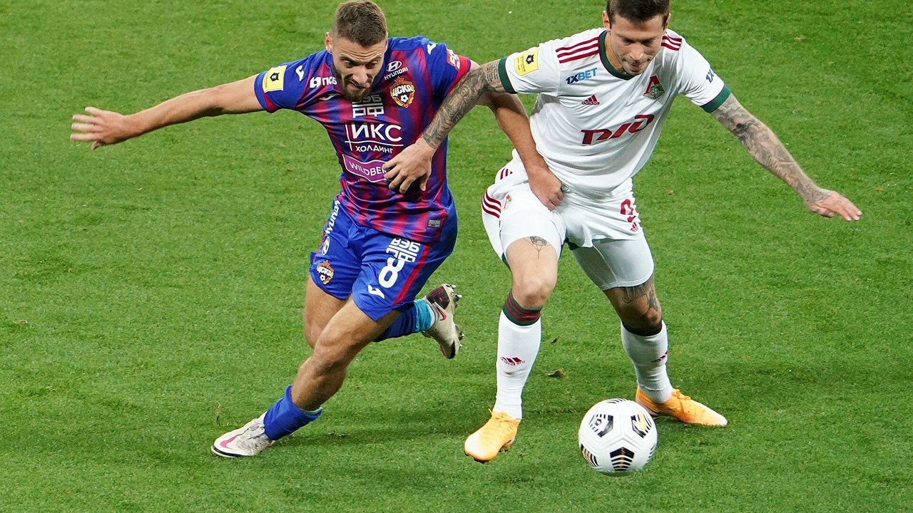 ЦСКА - Локомотив, 0:1
