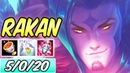 S HOW TO PLAY RAKAN SUPPORT | Best Build Runes | Diamond Commentary | League of Legends | S9