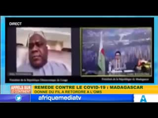 Covid-Arganics - Remède du covid19 Madagascar envoie l'OMS se balader
