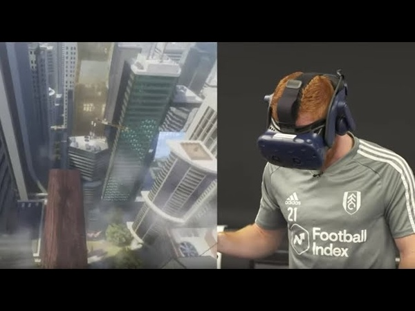 We Got Fulham Players to 'Walk the Plank' on VR and They Nearly S t Themselves 😂