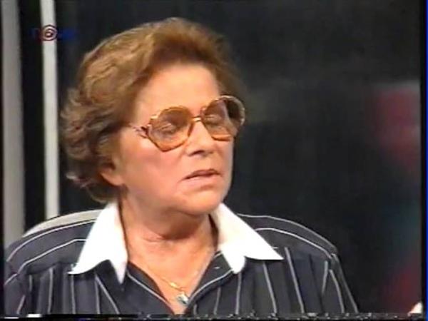 7 čili 7 dní Jiřina Švorcová Pavel Tigrid 1996