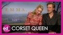 Anya Taylor Joy Johnny Flynn talk Emma!