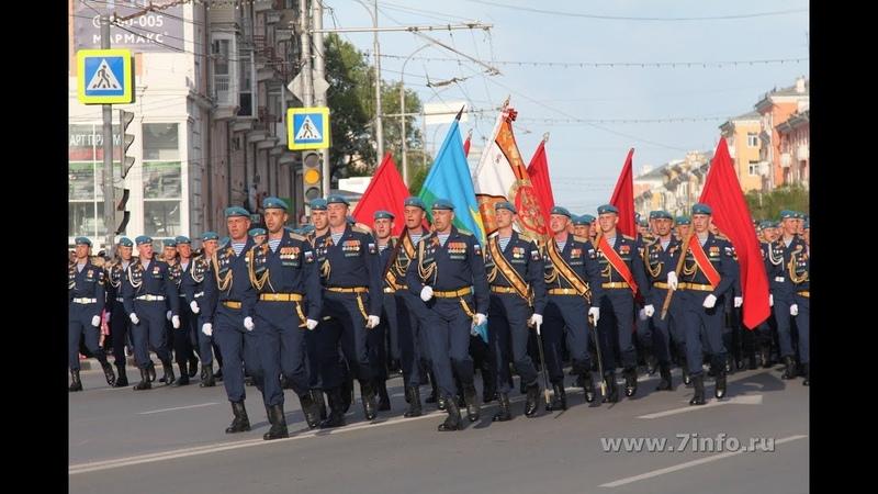 Курсанты Рязанского десантного училища Шел солдат 9 мая 2018
