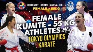 FEMALE KUMITE -55KG in KARATE TOKYO OLYMPICS 2021
