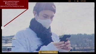 20210312【HD】LEE MIN HO's Recent SNS activities∣Updated from Canada