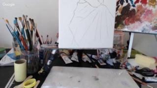 Закрытый МК.  Зубова Татьяна.  Нежный женский образ в цветущем саду, 14 04 17