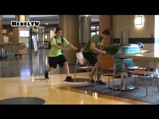 Ultimate Chair Pulling Pranks Compilation Funniest Public Pranks 2017