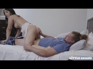 [LittleAsians] Mina Moon - [2020, All Sex, Blonde, Tits Job, Big Tits, Big Areolas, Big Naturals, Blowjob]