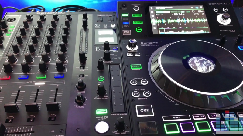 Namm 2018 Updates to the SC5000 Prime media player and X1800 mixer
